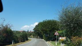 La bellezza della campagna della Toscana Italia fotografie stock libere da diritti