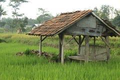 La bellezza della capanna dell'agricoltore immagini stock libere da diritti