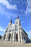 La bellezza della chiesa, Tailandia Fotografia Stock