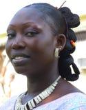LA BELLEZZA DELLA DONNA AFRICANA Immagine Stock Libera da Diritti