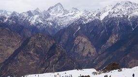 La bellezza della montagna Fotografie Stock Libere da Diritti