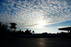 La bellezza della natura ha creato il cielo Immagini Stock