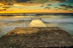 La bellezza della spiaggia di Kiamsam è ineguagliabile, l'isola di Labuan Immagine Stock