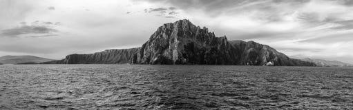 La bellezza della vista panoramica del Cile di Capo Horn immagini stock libere da diritti