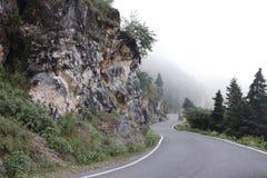 La bellezza delle colline di Dehra Dun fotografie stock libere da diritti