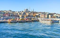 La bellezza di Costantinopoli Fotografie Stock