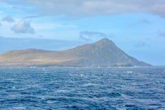 La bellezza di girare scenico intorno a Capo Horn, punta più a sud del Cile del Sudamerica fotografia stock libera da diritti
