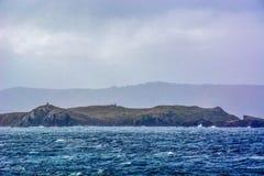 La bellezza di girare scenico intorno a Capo Horn, punta più a sud del Cile del Sudamerica fotografia stock