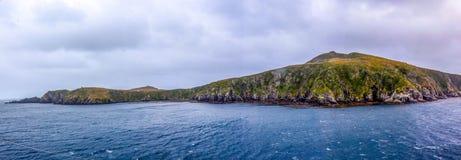 La bellezza di girare scenico intorno a Capo Horn, punta più a sud del Cile del Sudamerica immagini stock libere da diritti