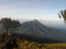 La bellezza di Merapi Fotografia Stock