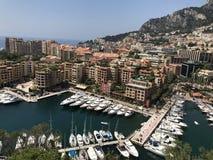 La bellezza di Monte Carlo Immagine Stock