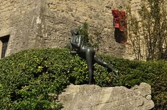 La bellezza nuda del San Marino fotografia stock