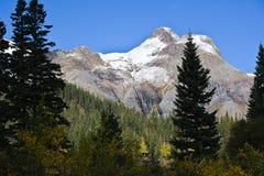 La bellezza paesaggistica del Colorado Rocky Mountains Fotografie Stock Libere da Diritti