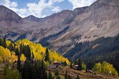 La bellezza paesaggistica del Colorado Rocky Mountains Immagine Stock Libera da Diritti
