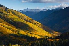 La bellezza paesaggistica del Colorado Rocky Mountains Immagini Stock