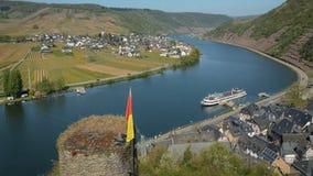 La bellezza unica della valle di Mosella, Germania Fotografia Stock Libera da Diritti