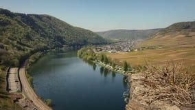 La bellezza unica della valle di Mosella, Germania Immagini Stock