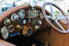 La Bestioni-Auto auf Anzeige Stockfoto
