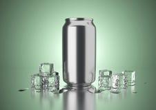 La bevanda fredda può Fotografia Stock