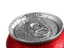 La bevanda fresca della soda dentro può Fotografie Stock Libere da Diritti