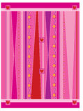 La BG géniale rose Photo libre de droits