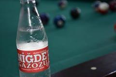 La bière anglaise turque de boissons de nigde image libre de droits