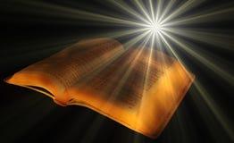 La bibbia del dio Fotografie Stock