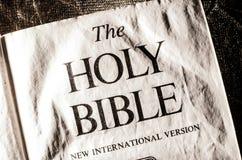 La BIBBIA SANTA Fotografia Stock Libera da Diritti