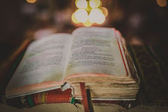 La bible Photographie stock libre de droits