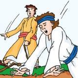 La bible - jugement de d'autres illustration de vecteur
