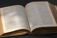 La biblia Foto de archivo libre de regalías