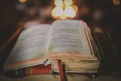 La biblia Fotografía de archivo libre de regalías