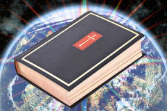 La biblia santa fotografía de archivo
