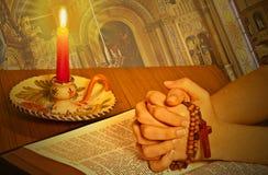 La biblia santa foto de archivo
