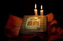 La biblia santa Imagen de archivo libre de regalías