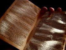La biblia vieja imagen de archivo