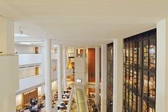 La Biblioteca Británica Imagen de archivo libre de regalías