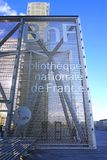La biblioteca de Bibliotheque Nationale de Francia en París, Francia Imagen de archivo