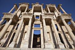 La biblioteca de Celsus Foto de archivo libre de regalías