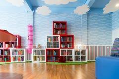 La biblioteca dei bambini Fotografie Stock Libere da Diritti