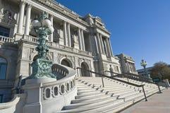 La Biblioteca del Congresso Fotografia Stock
