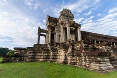 La biblioteca di Angkor Wat, Siem Reap, Cambogia Fotografia Stock