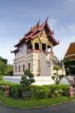La biblioteca di scripture di Wat Phra Sing, Chiang Mai fotografie stock libere da diritti