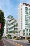 La biblioteca nacional en Singapur Fotografía de archivo libre de regalías