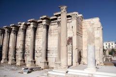 La bibliothèque Athènes 3 d'Adrian Images stock