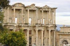 La bibliothèque d'Ephesus Images stock
