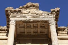 La bibliothèque de Celsus Images stock