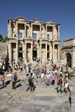 La bibliothèque de Celsus dans Ephesus Photographie stock libre de droits