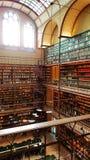 La bibliothèque de recherche de Rijksmuseum, Amsterdam image libre de droits