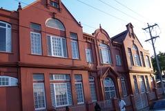 La bibliothèque gratuite de Carnegie dans San Fernando, Trinidad Image stock